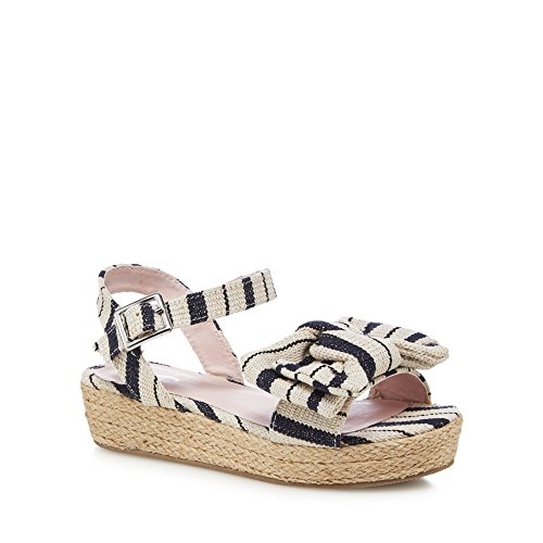 J by Jasper Conran 'Girls' Navy Sandals