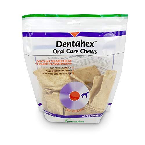 - Vetoquinol Dentahex Oral Care Chews for Dogs - Medium, 30ct