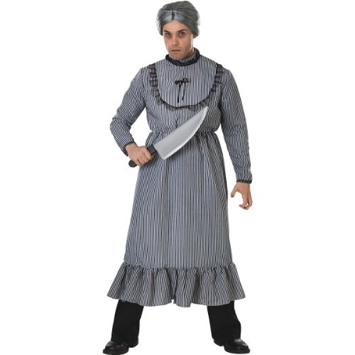 Psycho Mother's Dress Adult Costume Size: Standard ()