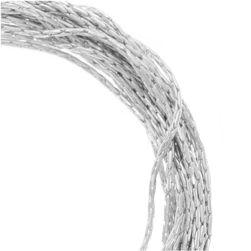 Sterling Silver Fine Snake Beading Chain .5mm Bulk By The Ft