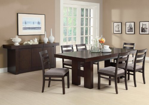Dabny 7-Pc Dining Table Set by Coaster