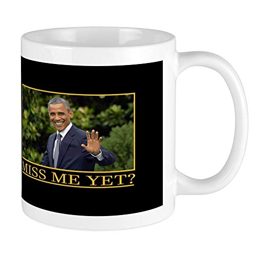 - CafePress Obama Miss Me Yet Mugs Unique Coffee Mug, Coffee Cup