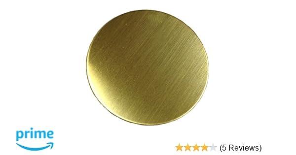 ".125/"" 1//8/"" Brass 260 Plate Round Circle Disc 12/"" Diameter"