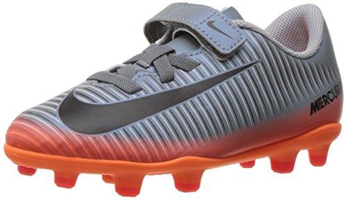 Nike Jr Mercurial Vortex Iii (V) Cr7 Fg, Zapatillas de Fútbol Unisex Niños Gris (Cool Grey/mtlc Hematite-wolf Grey-total)