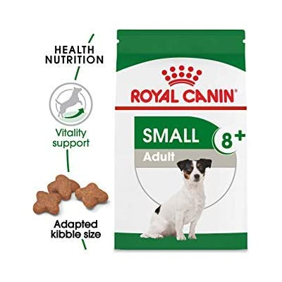 Royal Canin Size Health Nutrition Small Adult +8 Dry Dog Food 13 lb