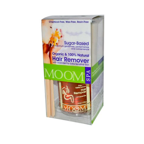 2 Packs of Moom Organic Hair Removal Kit With Lavender Spa Formula - 1 Kit