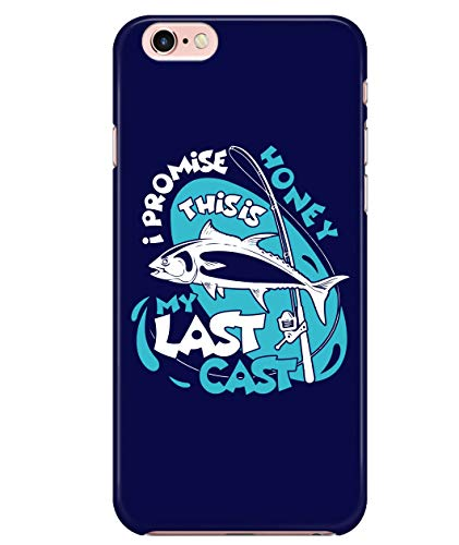 iPhone 7/7s/8 Case, This is My Last Cast Case for Apple iPhone 7/7s/8, I Promise Honey iPhone Case (iPhone 7/7s/8 Case - Navy)