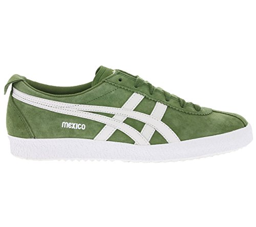 Asics Mexico Delegation, Zapatillas Unisex Adulto CHIVE / WHITE