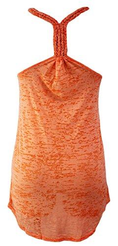 Vian Lundgaard - Camisola - Básico - Sin mangas - 50 DEN - para mujer naranja