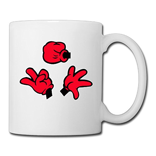 [Ceramic Personalized Cups Rock Paper Scissor All Saints' Day Gift Ceramic Travel Mug] (Scissors Paper Rock Costume)