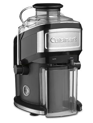 Cuisinart CJE-500 Compact Juice Extractor, Black (Certified Refurbished)