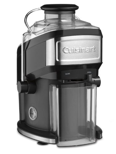 Cuisinart CJE-500FR Compact (Renewed) Juice extractor One Size Black (Hamilton Beach Big Mouth Juice Extractor Reviews)