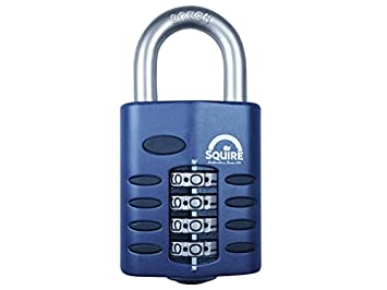 Squire CP40 22mm Push Button Combination Padlock