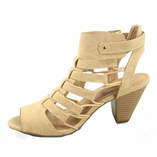 Shoes Low Beige Fashion Open Strappy Gladiator Delicious Wedge Toe Womens Heel Awesome Sandal s zfqqw7C