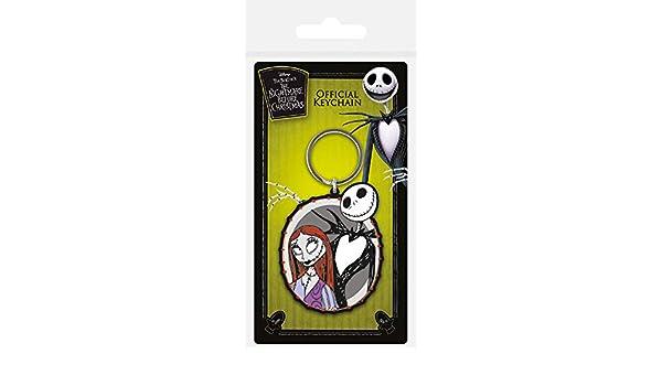 The Nightmare Before Christmas - Llavero Jack & Sally ...