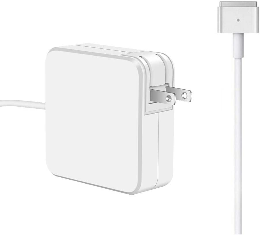 JES Universal Adapter, Mac Book Air Charger, 45W Magnetic T-Type Charger, Replacement Charger for Notebook 11-inch & 13 inch (After Mid 2012)