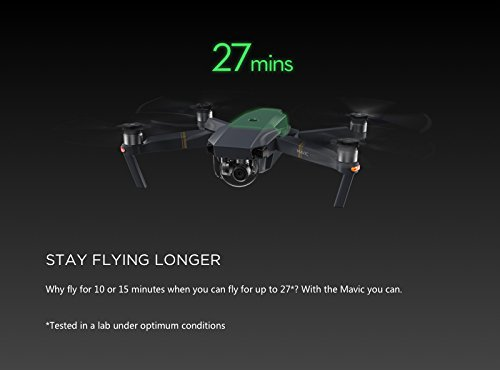 DJI Mavic PRO FLY MORE COMBO Portable Collapsible Mini Drone