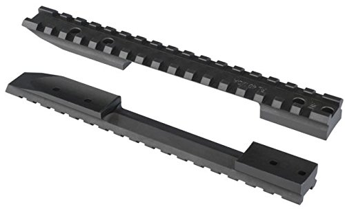 Nightforce Steel One Piece Scope Mounting Base with 40 MOA Taper, for the Remington Model 700 Long Action Rifles.