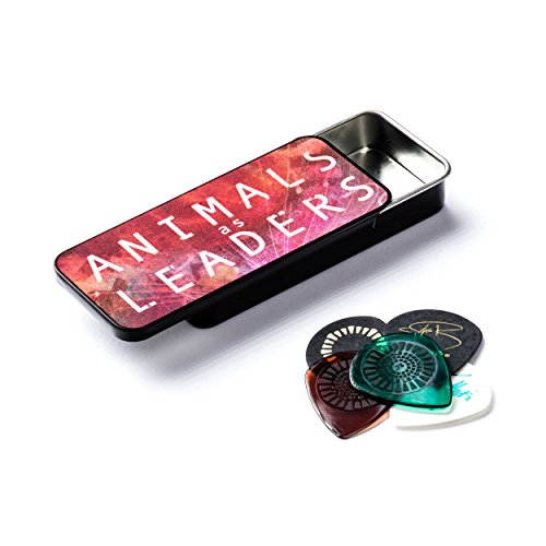 Dunlop AALPT01 Animals As Leaders Pick Tin, 6 Picks/Tin