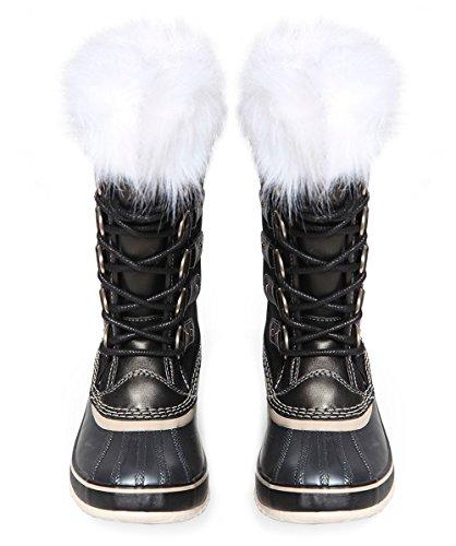 Black natural Women's amp; Black Natural Boots Celebration Arctic Joan Of Sorel X 0dqPBPU
