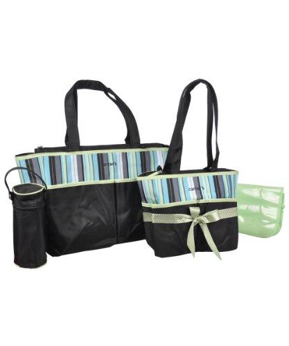 Carters Diaper Bag Set Green