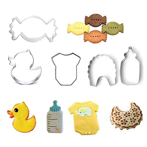 Baba Cutie baby Love Pattern Stainless Steel Fondant Cake Decoration Baking Pastry Biscuit Cookie Cutter Mold Cake Fondant Baking Pastry Tool kitchen Tool