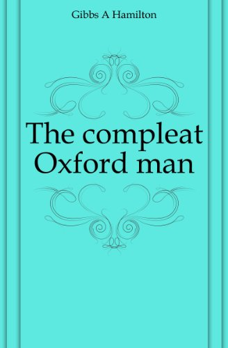 Hamilton Mens Oxford (The compleat Oxford man)