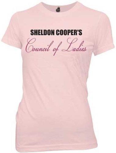 Big Bang Theory Sheldon Coopers Council of Ladies T-Shirt