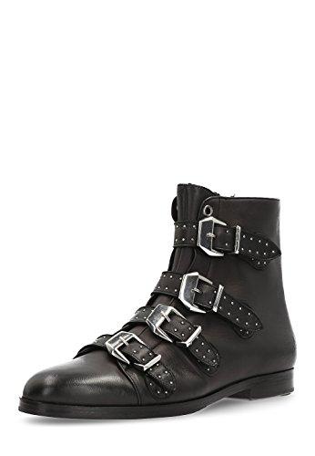 Susan Noir amp; Femme Chelsea Hamilton Boots R Noir Melvin EU 44 44 qBFCnw