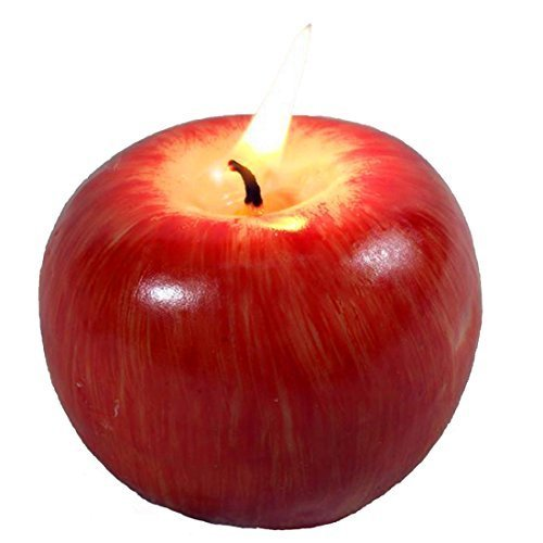 Christmas Gift Emulational Apple-shaped Fragrant Candle Christmas' Eve Gift Big Size by Friends Equipments