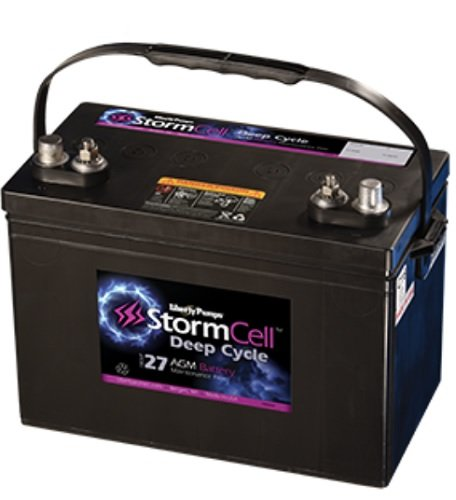 UPC 671812137903, Liberty Pumps B12V31-AGM Group 31 AGM StormCell 12V Maintenance-Free Battery
