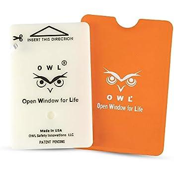 Amazon Com Owl Car Window Breaker And Seatbelt Cutter