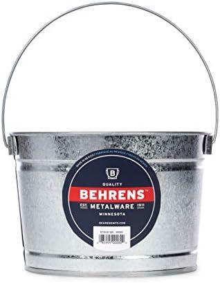 Behrens B325 Galvanized Steel Silver