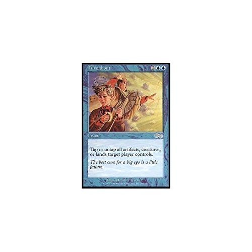 Turnabout Urza/'s Saga MTG Magic the Gathering Free Shipping