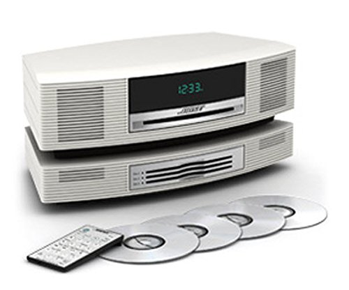Bose Wave Music System with Multi-CD Changer - Platinum White