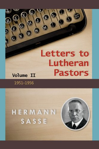 Download Letters to Lutheran Pastors - Volume 2 PDF