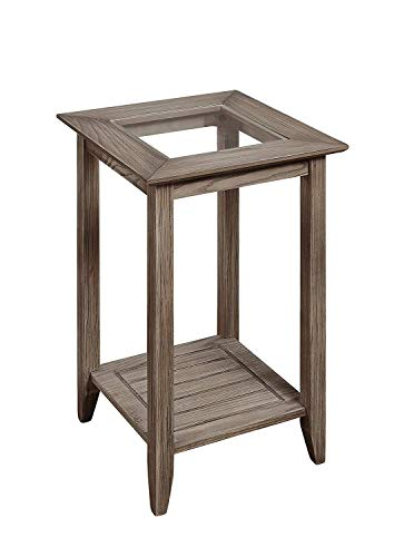 Convenience Concepts Carmel End Table, Driftwood