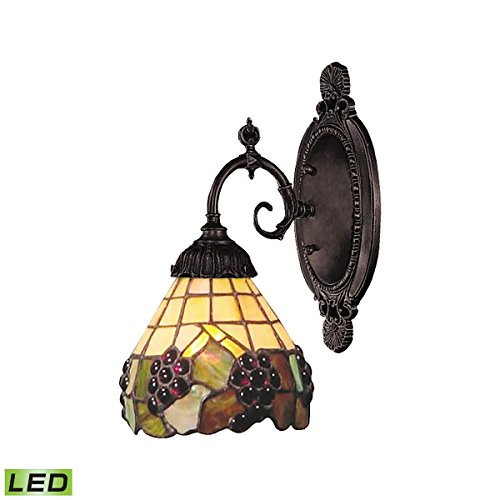 Elk Lighting 071-TB-07-LED Wall Sconce Tiffany Bronze (071 Tb 07 Mix)