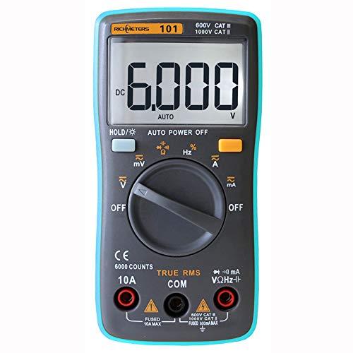 Yeshai3369 Digital Multimeter AC/DC Ammeter Volt Meter/Ohm Meter: DIY & Tools