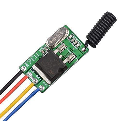 DC 4V 5V 6V 7.4V 9V 12V Wireless Relay Remote Control One Key Switch Receiver