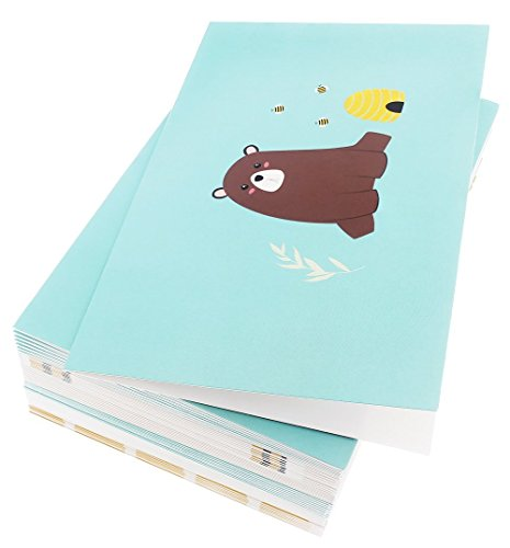 48 Pack All Occasion Assorted Blank Note Cards Greeting Cards Bulk Box Set -  6 Honey Bear Designs - Blank on the Inside Notecards with Envelopes Included - 4 x 6 Inches by Best Paper Greetings (Image #6)