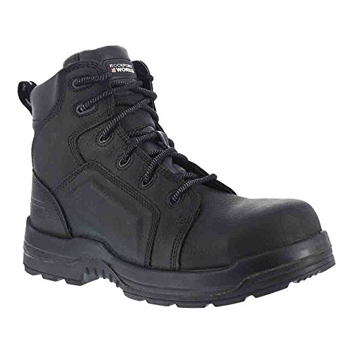 Rockport Work Men's RK6635 Work Boot,Black,13 W US by Rockport