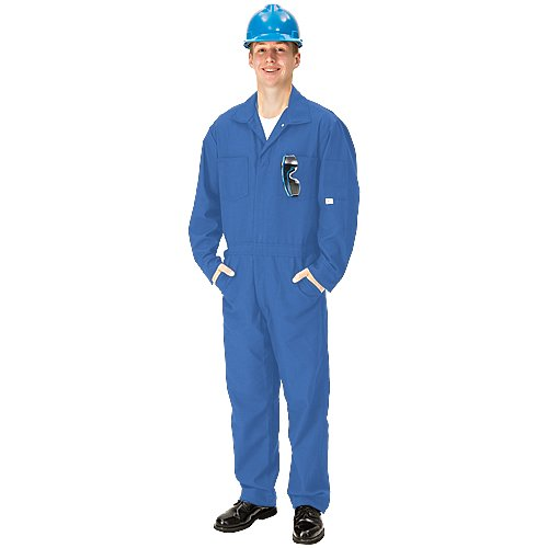 Tall//Size 42 6 oz Royal Blue 5-11 1//2 to 6-3 TOPPS SAFETY CO07-5615 Tall//42 CO07-5615 NOMEX Coverall