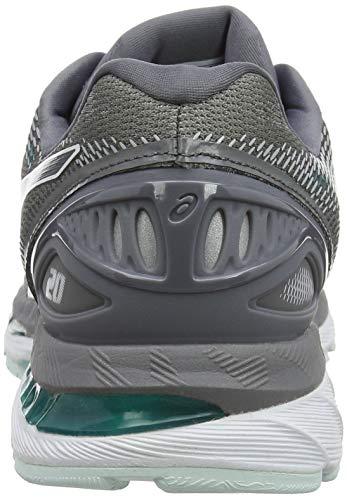 Asics 020 20 Femme Carbon Running de Gel Carbon Gris Nimbus Chaussures gqfrg