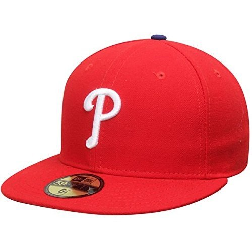 New Era Philadelphia Phillies MLB Authentic Collection 59FIFTY On Field Cap NewEra 59Fifty: 7 1/8