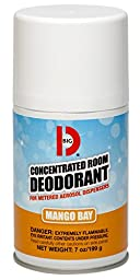 Big D 473 Concentrated Room Deodorant for Metered Aerosol Dispensers, Mango Bay Fragrance, 7 oz (Pack of 12)