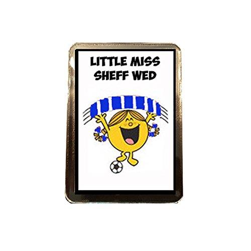 fan products of Sheffield Wednesday F.C - Little Miss Football Fridge Magnet