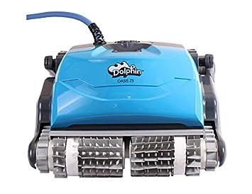 Delfín Oasis Z5 Robot limpiador de piscina con Caddy y mando a distancia: Amazon.es: Jardín
