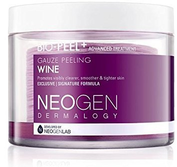 What order Korean skin care. Neogen Dermalogy Bio-Peel Gauze Peeling Wine #koreanskincare