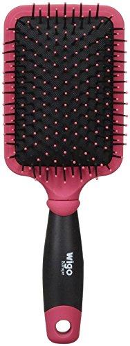 (WIGO Cushion Paddle Brush - Pink - 0.35 lb)